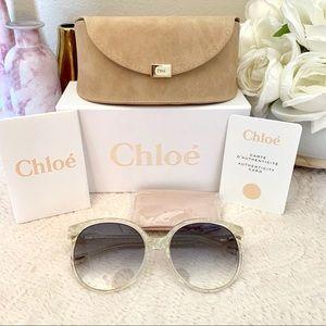 Chloe gradient sunglasses